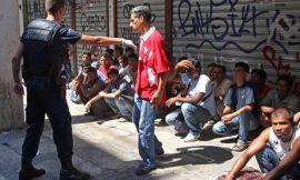 Greek police arrest suspected illegal immigrants