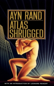 Front cover, 'Atlas Shurgged'