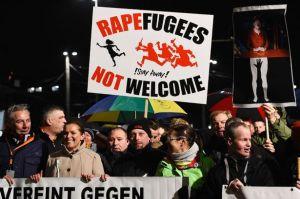 German-Protestors